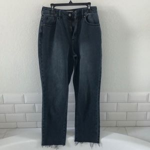 PacSun dark washed mom jeans